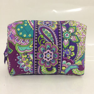 NWOT Vera Bradley Large Cosmetic Heather